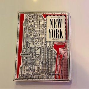 Kate Spade Map Printed iPad Case